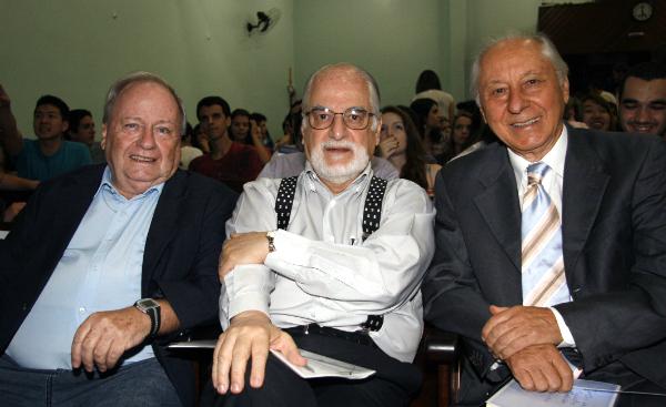 Dr. Pedro Gordan, Dr. José Eduardo Siqueira e Dr. Celmo Celeno Porto - raciocínio clínico