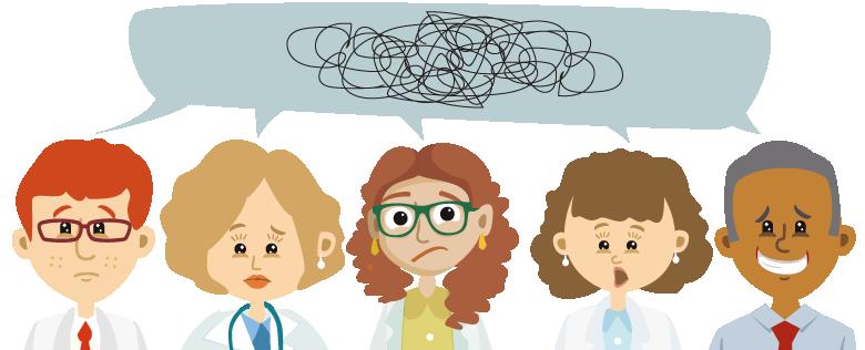 caso clínico - comunicação entre profissionais - raciocínio clínico