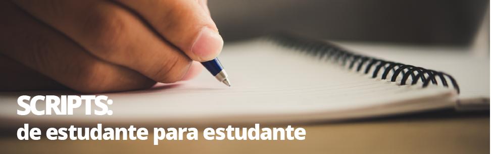 Scripts das doenças - de estudante para estudante