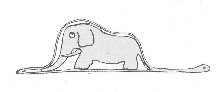 A jiboia e o elefante - O pequeno príncipe - Raciocínio clínico